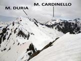 Via Normale Monte l'Usciolo - Panorama dalla vetta