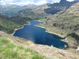 Via Normale Cima Giovanni Paolo II - I laghi Gemelli dalla cima