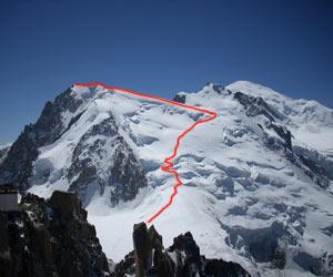 Via Normale Mont Blanc du Tacul