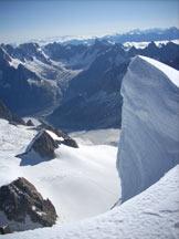 Via Normale Mont Blanc du Tacul - Imponente seracco
