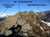 Via Normale Monte Cortafon - Sulla cresta E
