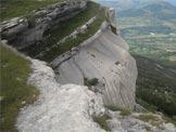 Via Normale Pic de C��se - La falesia che cinge a cerchio la cima