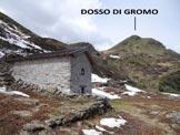 Via Normale Dosso di Gromo - Immagine ripresa all'Alpe di Gordia