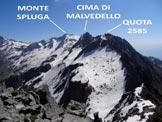 Via Normale Monte Sciesa - Panorama di vetta, verso NE