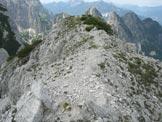 Via Normale Cima delle Cenge - L´affilata cresta