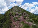 Via Normale Monte Molter - Verso la cima