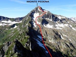 Via Normale Monte Pedena