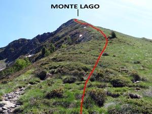 Via Normale Monte Lago - dal Rif. Alpe Lago
