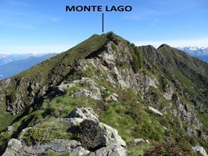 Via Normale Monte Lago - Cresta SSE