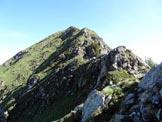 Via Normale Monte Lago - Cresta SSE - I facili risalti della cresta SSE