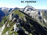 Via Normale Monte Lago - Cresta SSE - Uno sguardo all�indietro, dalla cresta SSE