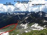 Via Normale Corno Stella – Versante NE - Panorama di vetta, verso E