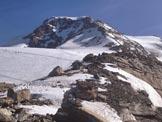 Via Normale Piramide Vincent - Cresta SW - Traccia salita