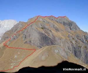 Via Normale Monte Pezza