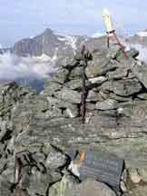 Via Normale Punta Sulè - Vista dalla vetta, Rocciamelone sullo sfondo