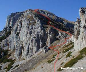 Via Normale Monte Pianezza