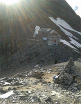Via Normale Strahlhorn - La Britanniahutte dal Klein Allalinhorn