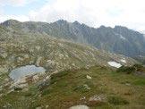 Via Normale Pizzo Giezza - I laghi di Variola visti durante la salita verso la Bocchetta del Rodale