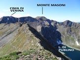 Via Normale Cime dello Scoltador (traversata) - Panorama di vetta, verso S