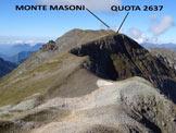 Via Normale Cima di Venina - Versante NW - Panorama di vetta, verso SW