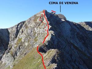 Via Normale Cima di Venina - Cresta NE