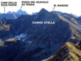 Via Normale Monte Toro - Cresta NW - Panorama di vetta, verso E