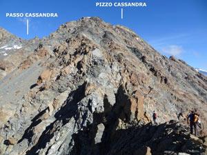 Via Normale Pizzo Cassandra - Cresta Sud