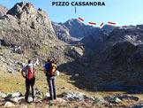 Via Normale Pizzo Cassandra - Cresta Sud - L�itinerario della cresta S, da SW