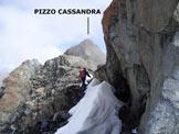 Via Normale Pizzo Cassandra - Cresta Sud - Sulla cresta sommitale