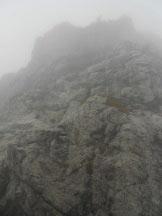 Via Normale Grigna Meridionale - Cresta Sinigaglia - Catene finali prima della vetta
