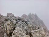 Via Normale Torre della Creta di Aip - La cresta