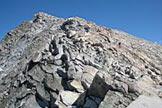 Via Normale Monte Adamello - Cresta rocciosa finale