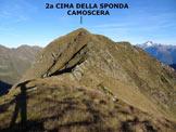 Via Normale Sponda Camoscera - Cresta SE - Immagine ripresa dalla prima cima che sovrasta il Passo di Valbona