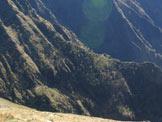 Via Normale Monte Rotondo da Premana - Sentiero Cadorna sotto la Bocchetta di Stavello