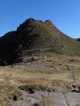 Via Normale Monte Colombino - Visto dalla Nicchia di San Glisente