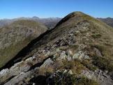 Via Normale Monte Colombino - Lungo la cresta sommitale