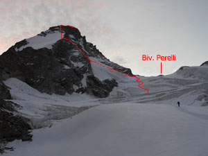 Via Normale Dent d´Herens