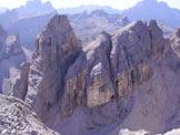 Via Normale Torre Fanes - Il versante settentrionale