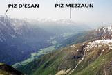 Via Normale Piz d'Urezza - Panorama di vetta, verso S