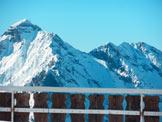 Via Normale Pizzo del Vescovo (invernale) - Vista verso il Monte Pegherolo