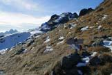Via Normale Piz Zorlet - La cresta di salita