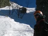 Via Normale Monte Maggiorasca - Canale Marticano - Il secondo canale sotto la vetta del Maggiorasca a destra