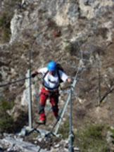 Via Normale Crocetta Soprana - Il ponte e la campana