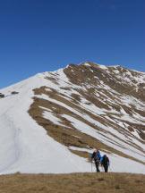 Via Normale Monte Magno - La lunga cresta che dal Monte Pola porta al Gradiccioli
