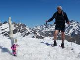 Via Normale Monte Madonnino - Sulla cima
