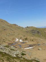 Via Normale Monte Massone - Il falsopiano che dal Passo riporta alla dorsale di salita
