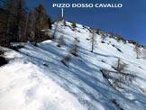 Via Normale Pizzo Dosso Cavallo - In salita