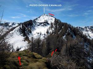 Via Normale Pizzo Berro – Pizzo Dosso Cavallo