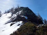 Via Normale Pizzo Berro – Pizzo Dosso Cavallo - La parte finale della traversata, la cresta NNW del Pizzo Dosso Cavallo