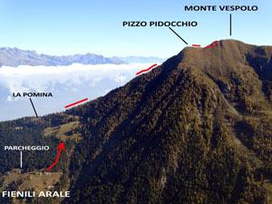 Via Normale Pizzo Pidocchio e Monte Vespolo